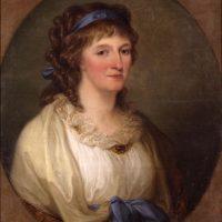 Louise von Anhalt-Dessau, Gemälde von Angelica Kauffmann©KsDW, Bildarchiv, Fräßdorf_Zuschnitt