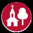 Kirche und Baum - Park und Schlösser Icon